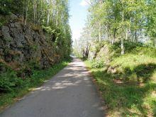 Skärning vid Lysviken 2018-06-29