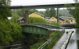 Akvedukten i Håverud med järnvägen ovanför 2012-06-25