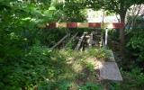 Avspärrad järnvägsbro i Etelhem 2013-08-21