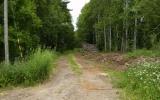 Banvall vid Kåxtorp 2010-07-05