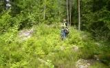 Banvallen efter Skoghult mot Grönlid 2007-07-02