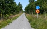 Banvallen norr om Åminne 2013-07-20