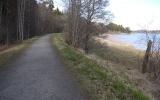 Banvallen norr om Sjövik vid Mjörn 2013-05-03