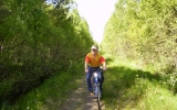 Banvallen stråxs öter om Gislaved 2008-05-24