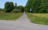 Banvallen västerut från Hörby 2014-05-30