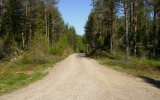 Banvallen vid Mossnäs mot Djurstorp 2012-05-25