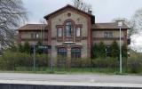 Billeberga station från spårsidan 2016-04-24