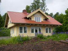 Billingsfors station, Lelångenbanan