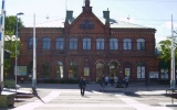 Borås centralstation från spårsidan 2011-06-01