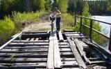 Bro över Tjurken 2007-05-05.