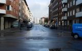 Carl Krooks gatan, där HRRJ gick fram, 2016-04-25