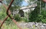 Decauville-viadukten 2 km norr om Sala station 2016-07-04