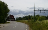 Den kvarvarande järnvägen förbi Vartofta går mellan Falköping och Jönköping 2010-07-06