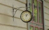 Detalj på fasaden på Kinnarp station 2008-06-26