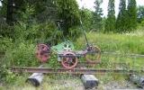 Dressin vid Isnäs banvaktstuga 2011-06-27