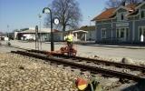 Dressin vid Svenljunga station 2011-04-24