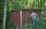 Dressinskjul vid Kvarnamåla 2006-07-01