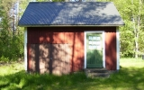 Dressinskjul vid Mossnäs 2012-05-25