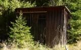 Dressinskjul vid Slåttra banvaktstuga 2014-10-03