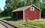 Gammalt godsmagasin i Ormaryd 2013-06-09