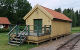 Godsmagasin vid Marielund station 2016-06-26