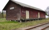 Godsmagasinet i Nättraby 2008-05-01, rivet i februari 2012