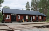 Godsmagasinet vid Tallås station 2018-06-23