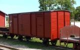 Godsvagn KlRJ (Gotlands järnvägsmuseum i Dalmhem) 2013-08-19