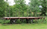 Godsvagn från NHJ i Bergsjö hembygdspark 2018-06-18