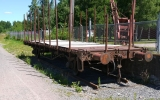 Godsvagn i Åminne 2013-07-20
