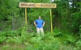 Gränsen mellan Blekinge och Småland 2006-07-08