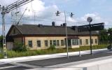 Hästveda station, från spårsidan, 2013-07-05