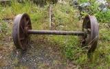 Hjulparmed bredden 1093 mm vid Riddarhyttans lokstall 2014-06-19