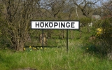 Hököpinge stationsskylt 2014-04-19