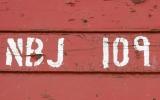 Identitetsnummer på järnvägsvagn i otterbäcken 2019-06-10