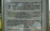 Informationstavla om järnvägen i Tollarp 2009-06-25