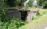 Järnvägsbro i Edsbro 2016-06-28