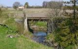 Järnvägsbro i Källtorp 2014-04-20