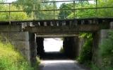 Järnvägsbro i Svartå 2014-06-21