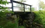 Järnvägsbro mellan Klinga och Lillie 2014-06-16