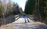Järnvägsbro över Bredängsån 2013-05-03