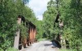 Järnvägsbro över Harmångerån 2018-06-18