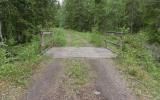 Järnvägsbro över Pumpbäcken. Här togs vatten till ångloken 2017-06-10