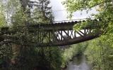 Järnvägsbro över Rastälven vid Lindesby 2017-06-05ärnvägsbro över Rast