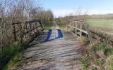 Järnvägsbro vid Rismaden 2016-04-24