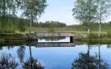 Järnvägsbro vid Voxna bruk över Sälmån 2018-06-26