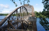 Järnvägsbroarna över Dalälven vid Gysinge 2016-07-03