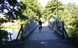 Järnvägsbron i Lyckeby 2008-07-26