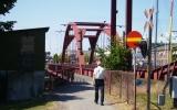 Järnvägsbron över Lidan i Lidköping 2010-07-07