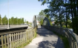 Järnvägsbron över Nissan i Gislaved 2008-05-24